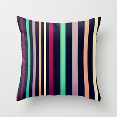 colorful lines! Throw Pillow