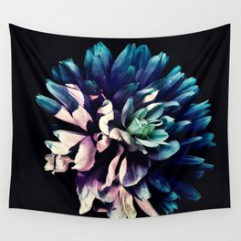 Pink Dahlia In the Last Rays of Sunset Wall Tapestry