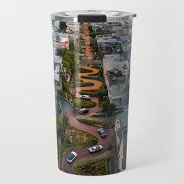 Sunrise at Lombard Street Travel Mug