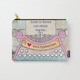 Typewriter #5 Carry-All Pouch