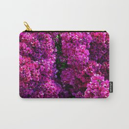 flwers in lilla Carry-All Pouch