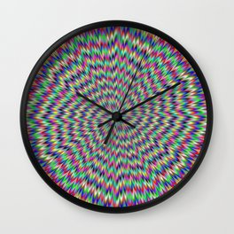 Eye Boggling Wall Clock