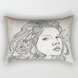 Elven Girl Rectangular Pillow