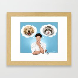 there is no substitute Framed Art Print