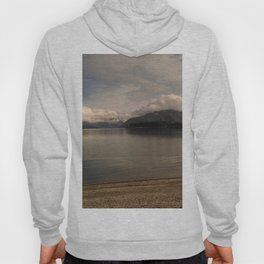 lake wanaka silent capture at sunset in new zealand Hoody
