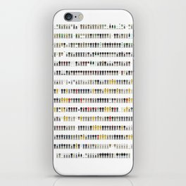 Walter White's Wardrobe - Complete Series iPhone Skin