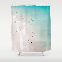 beach - summer love II Shower Curtain