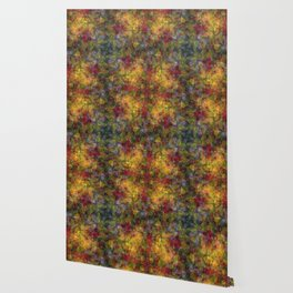 Floral Patchwork Wallpaper