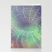 psychedelic Stationery Cards featuring Psychedelic by Karin Elizabeth