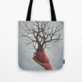 Nourishing Heart Tote Bag