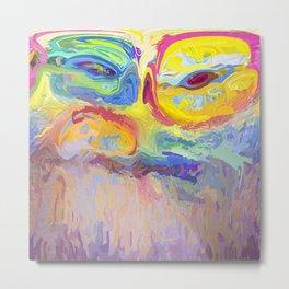 485 - Abstract colour design Metal Print