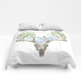 Deer Skull Comforters