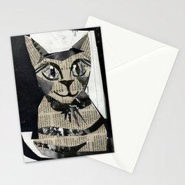 Newspaper Cat Stationery Cards