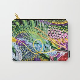 Dragon Of The Rose Carry-All Pouch