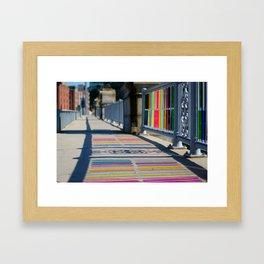 Shimmers Framed Art Print