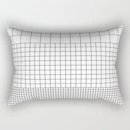 3 Grids Rectangular Pillow
