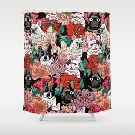 Because French Bulldogs Shower Curtain