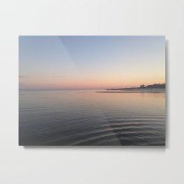 Gulfport Sunset Metal Print