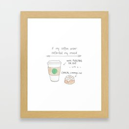 Fuck This I'm Out Framed Art Print