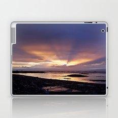 Beams of Light across the Sky Laptop & iPad Skin