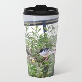 beautiful birds Metal Travel Mug