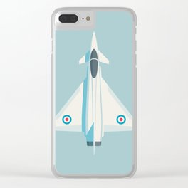 Typhoon Jet Fighter Aircraft - Sky Clear iPhone Case