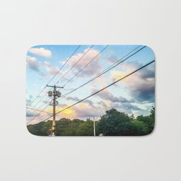 Cotton Candy Sky Bath Mat