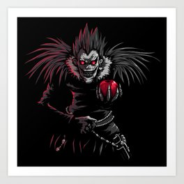 Ryuk by night Art Print