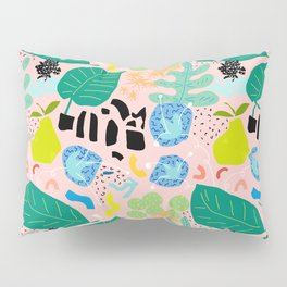 Abstract Orchard Pillow Sham