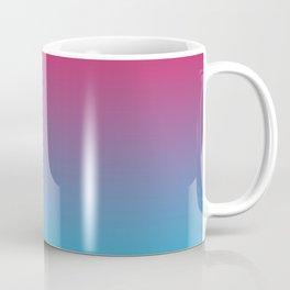 Pink and Sky-Blue Gradient 009 Coffee Mug