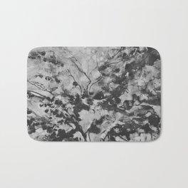 Black tree Bath Mat