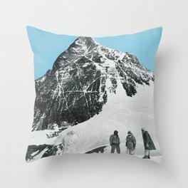 Mount Everest, 1952 (Vintage Movie Poster) Throw Pillow
