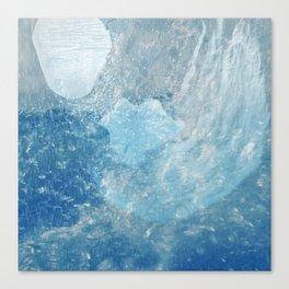 Drowning Siren Canvas Print