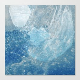 Drowning Siren Canvas Print