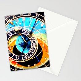 Astronomical Clock Prague Stationery Cards