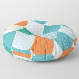 Snake Blue Floor Pillow