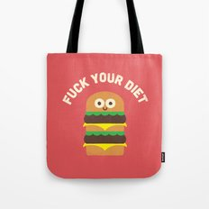 Discounting Calories Tote Bag