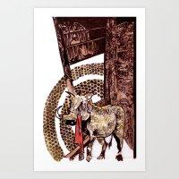 gore Art Prints featuring Gore by Smokacinno