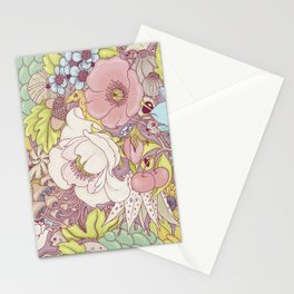 the wild side - summer tones Stationery Cards