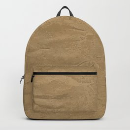 Brown Wrapping Paper Background Backpack