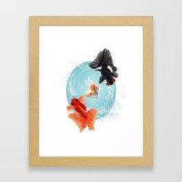 Goldfish Bowl (1 of 3) Framed Art Print