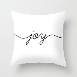 Peace love joy (3 of 3) Throw Pillow