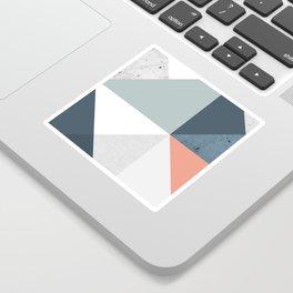 Modern Geometric 12 Sticker