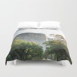 The mountain rock Duvet Cover