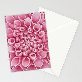 Summer Dahlia Stationery Cards