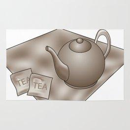 Vintage Tea time Rug