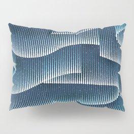 Aurora Borealis_Sky Blue Lights Pillow Sham