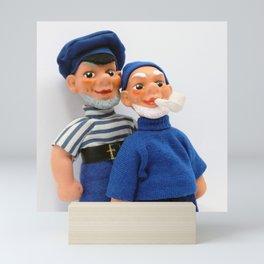 Sailors Mini Art Print