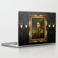 tim shumate Laptop & iPad Skins featuring Tim Minchin - replaceface by replaceface