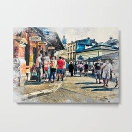 Cracow art 6 Kazimierz #cracow #krakow #city Metal Print